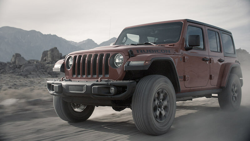 "Jeep ""A Legend Evolved"""